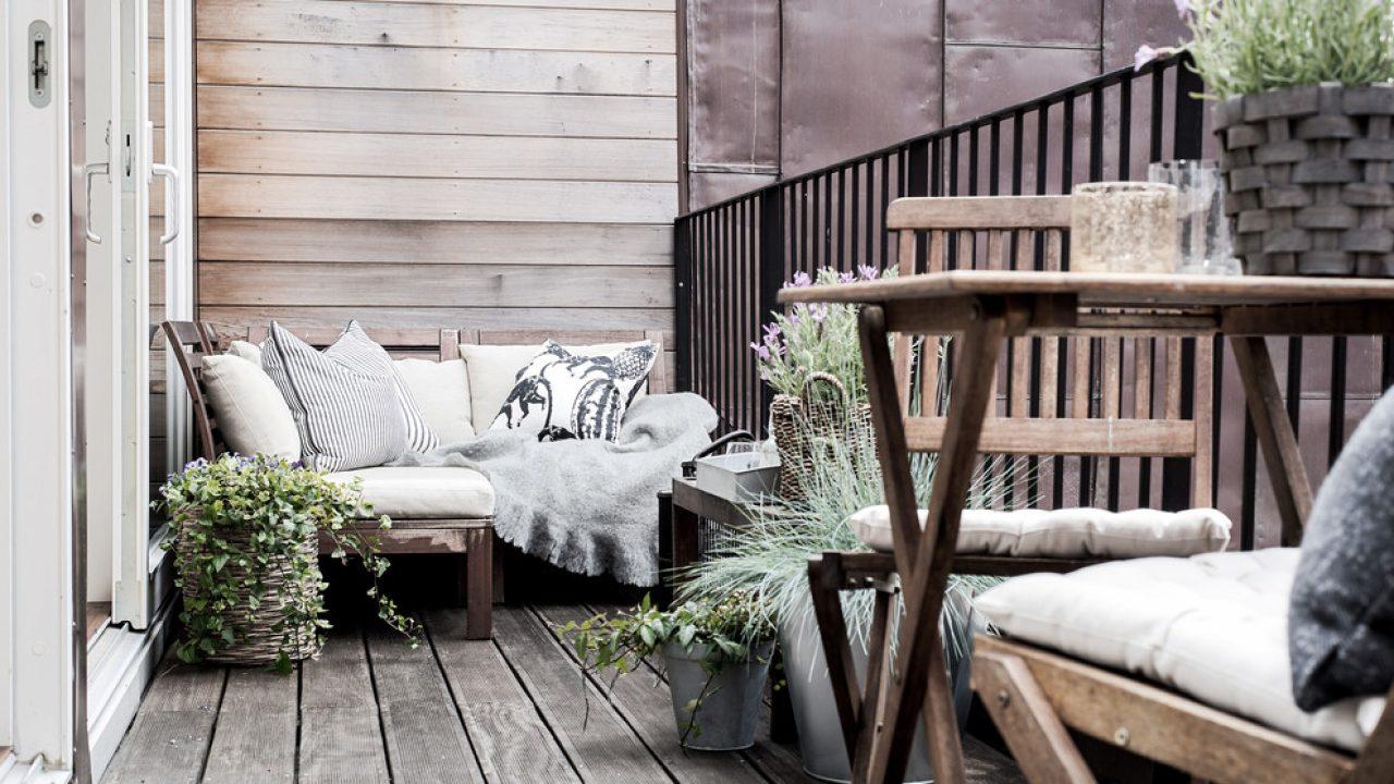 16 Charming Scandinavian Balcony