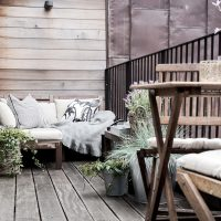 16 Charming Scandinavian Balcony Designs You're Gonna Love