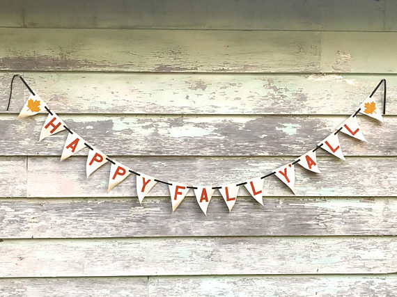 16 Colorful Handmade Fall Banner & Garland Designs To Jazz Up Your Decor