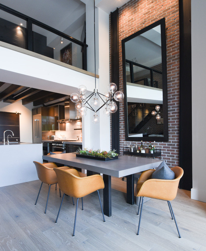 17 Captivating Industrial Dining Room Designs Youll Go Crazy For