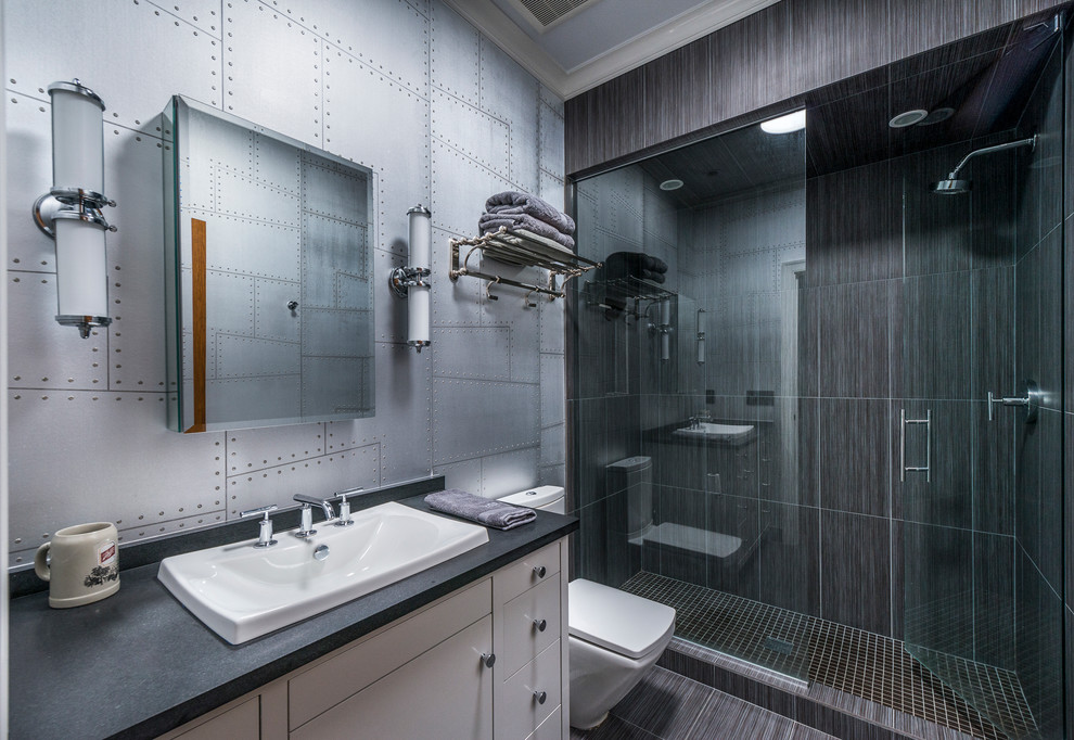 17 Stunning Industrial Bathroom Designs Youll Love