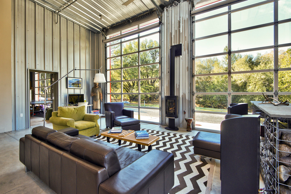 18 Irresistible Industrial Living Room Designs That Will Take Your Breath Away