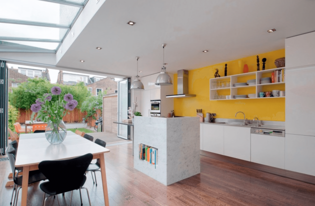 How To Choose The Right Color For The Kitchen's Walls