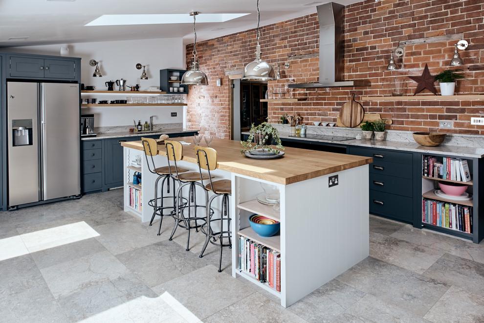 20 Spectacular Industrial Kitchen Designs That Will Get