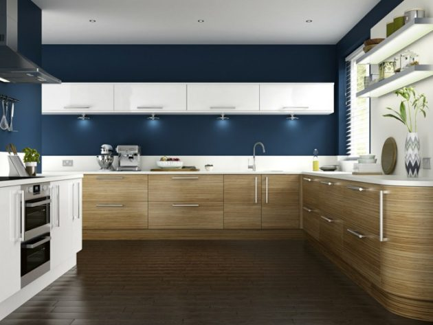 How To Choose The Right Color For The Kitchens Walls