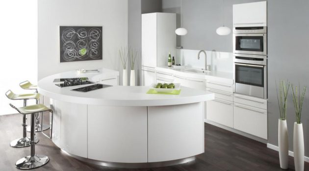 Rounded Kitchen Islands For Everyone Who Dares To Be Different
