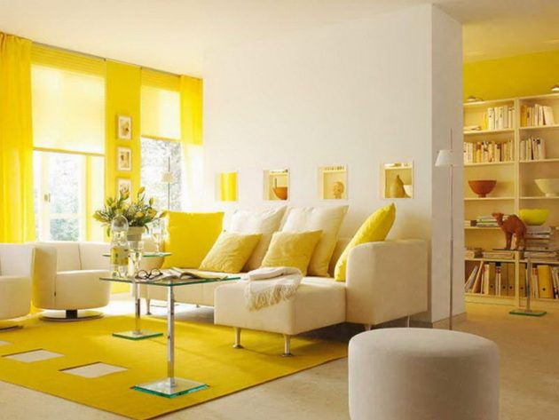 Enter Summer Vibes In The Home- 18 Marvelous Interior Designs With Yellow