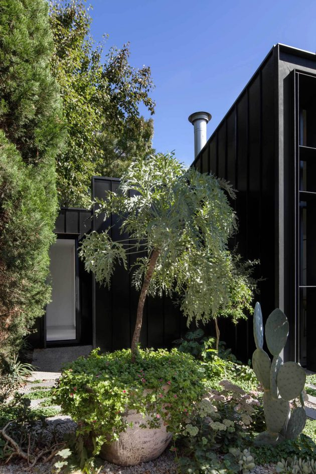 Baffle House by Clare Cousins Architects in Melbourne, Australia
