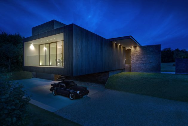 Black House by AR Design Studio in Kent, England