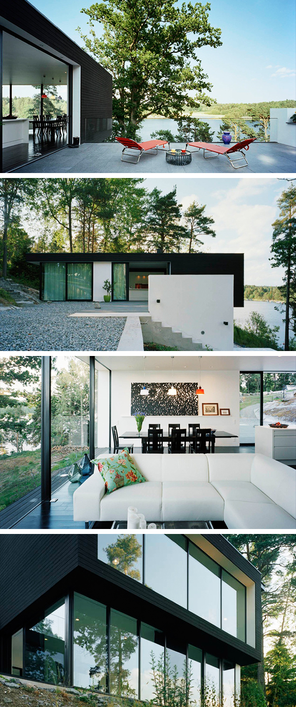 Casa Barone by Widjedal Racki Bergerhoff On The Island Of Ingarö, Sweden