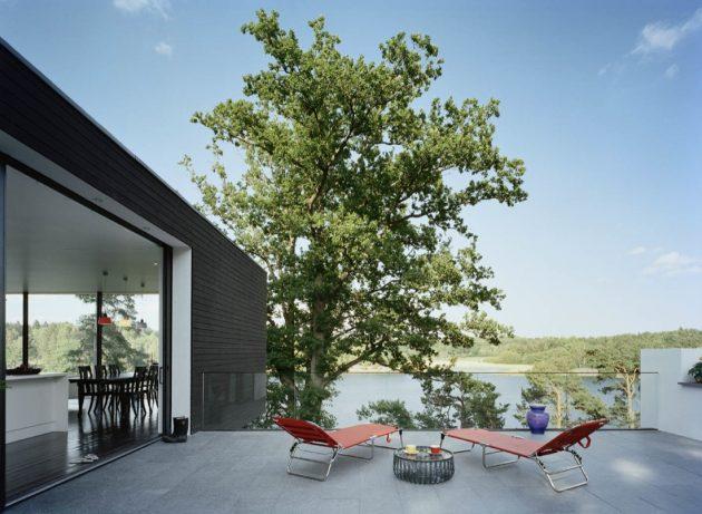 Casa Barone by Widjedal Racki Bergerhoff On The Island Of Ingarö, Sweden