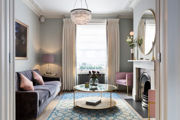 Painted Walls - A Timeless Classic Trend For Budget Friendly Interior Decor