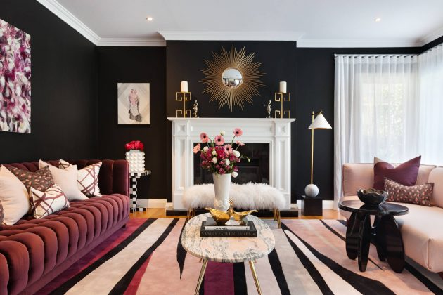 Painted Walls A Timeless Classic Trend For Budget