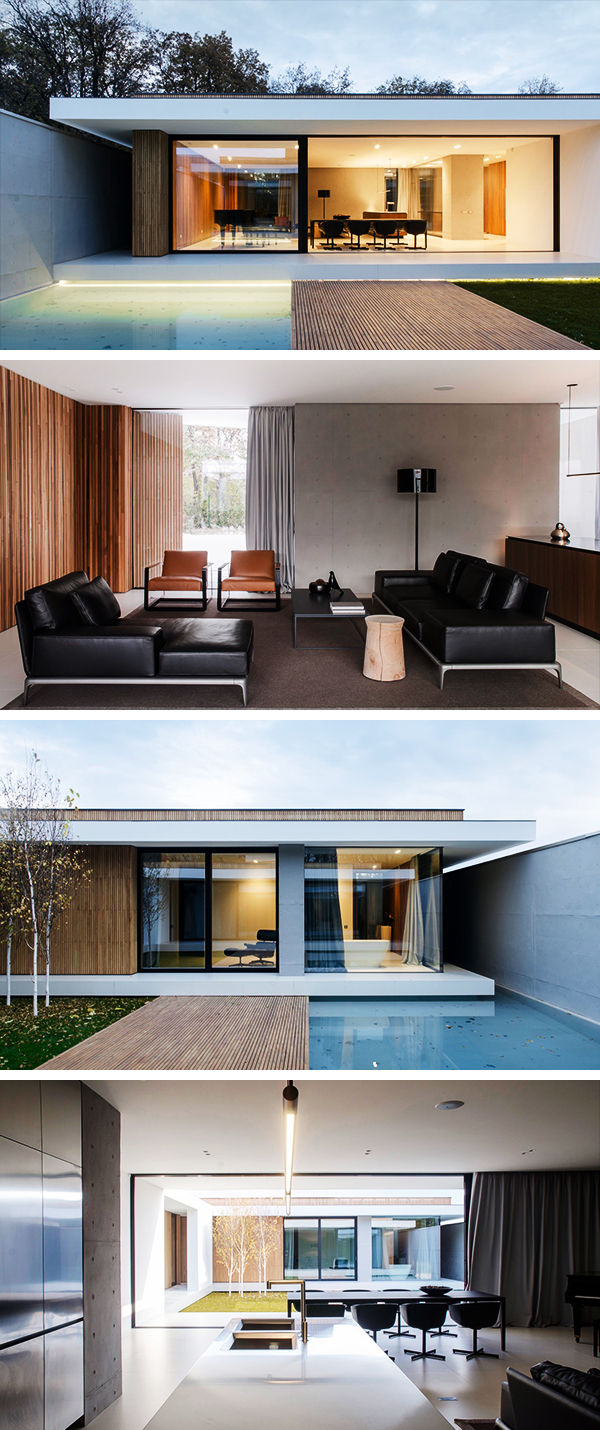 Piano House by LINE Architects in Chisinau, Moldova