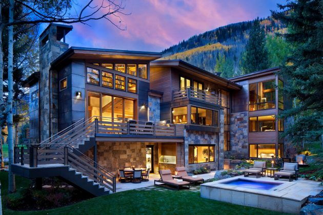 Ptarmigan Residence By Suman Architects In Vail Colorado