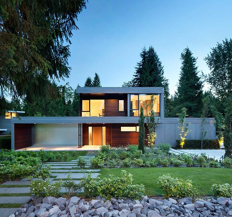 Contemporary Home Chilliwack By Randy Bens Architect: St. James Residence By Randy Bens In Vancouver, Canada