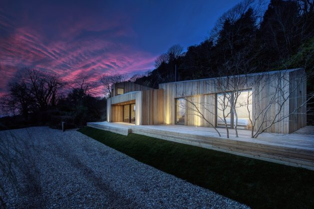 The Crow's Nest by AR Design Studio on England's South Coast