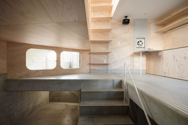 Tiny Tsubomi House by FLATHOUSE Spans Across 7 Levels in Tokyo, Japan