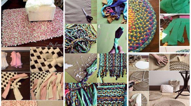 20 Really Amazing DIY Bathroom Rug Designs You Can Make For Free
