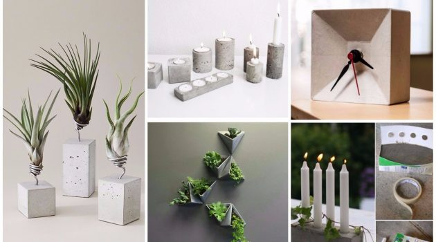 17 Irreplaceable DIY Concrete Decorations That Are Worth Your Time