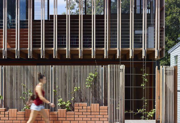 West End House by Richard Kirk Architect in Brisbane, Australia