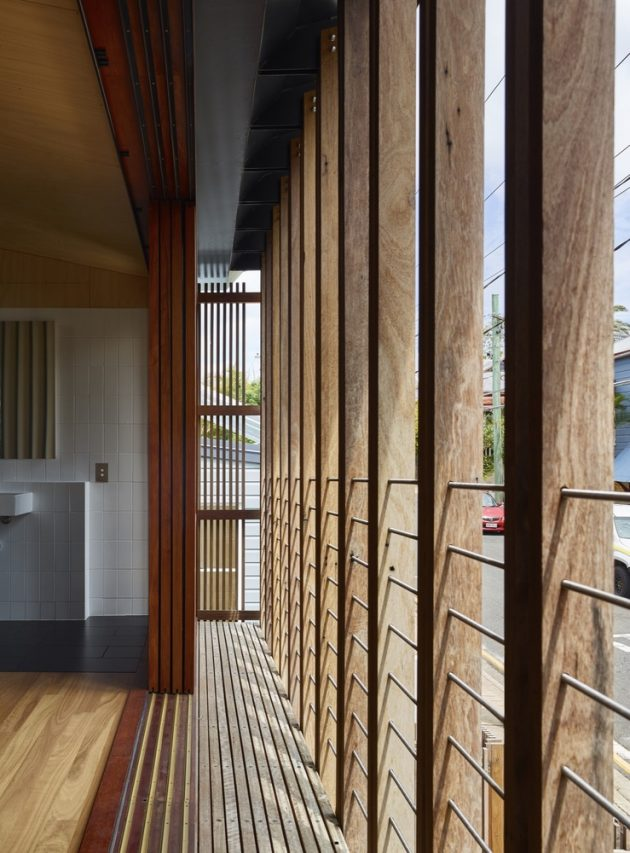 West End House by Richard Kirk Architect in Brisbane, Australia