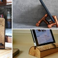 Why You Need A Tablet Stand In Your Kitchen – 12 Handmade Designs