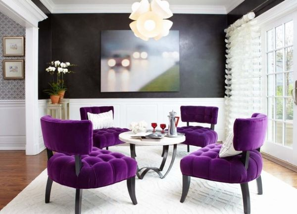 Purple In Your Home- 17 Fabulous Interior Design Ideas
