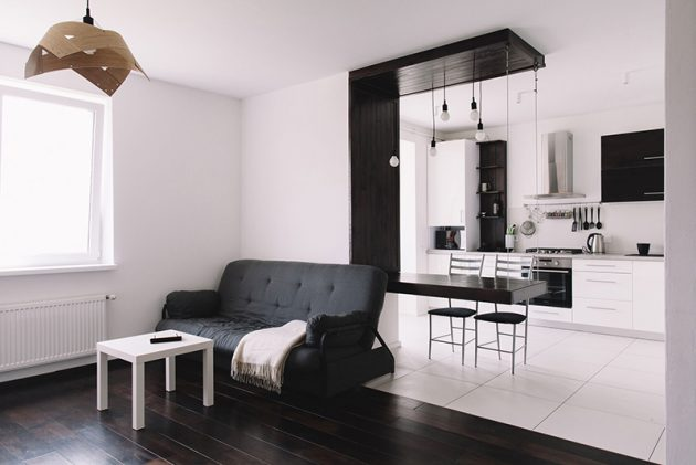 16 Captivating Black&White Interior Designs That Are Worth Seeing