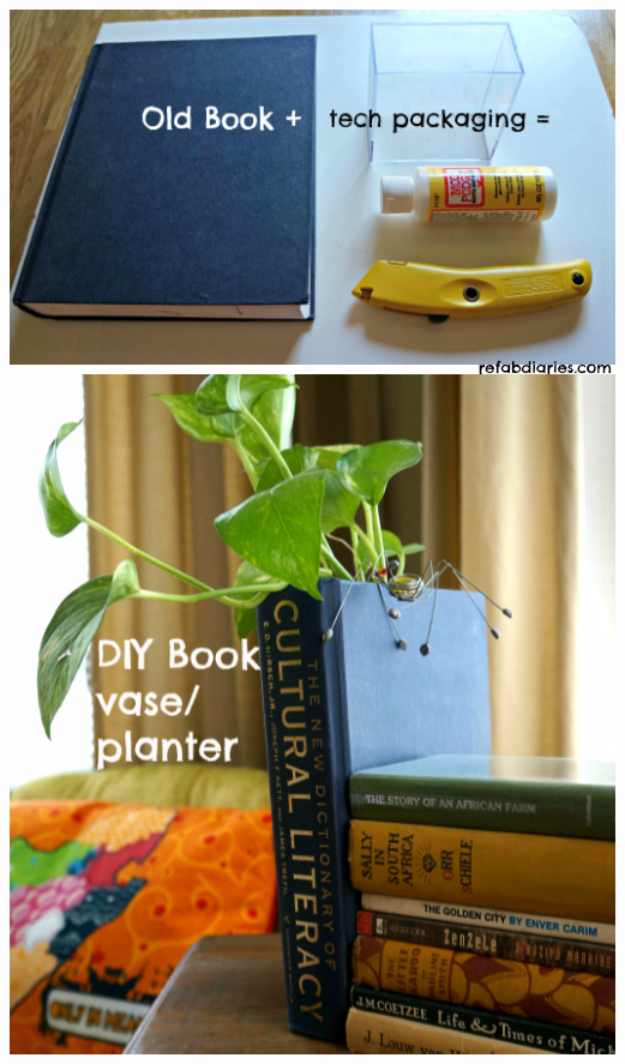 15 Incredible Diy Projects You Can Make Using Old Books