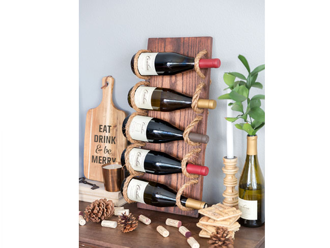 15 Smart DIY Wine Rack Ideas That You Can Make For Almost No Cost