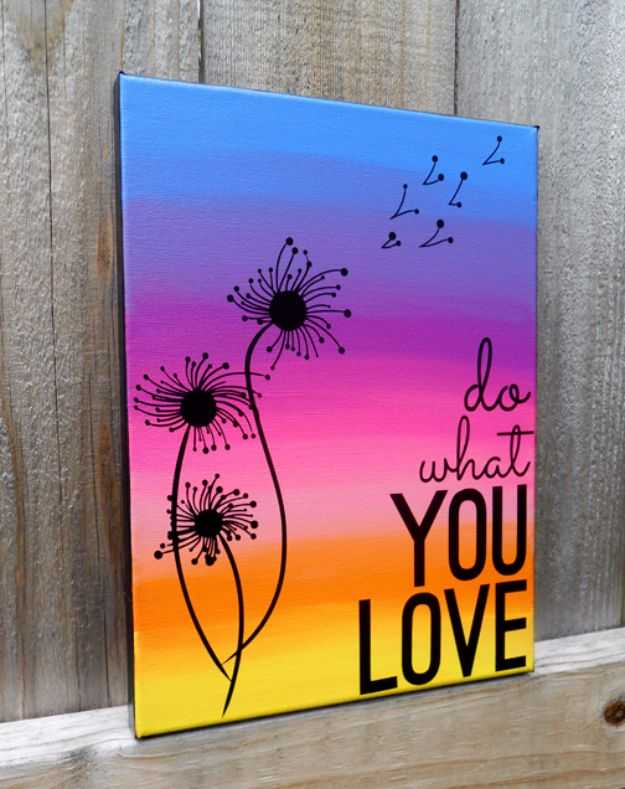 15 super easy diy canvas painting ideas for artistic home Diy canvas painting designs