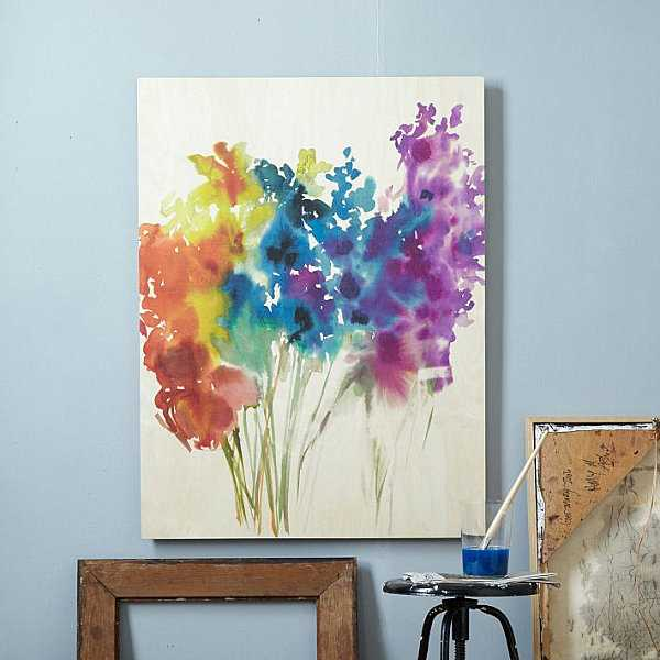 15 super easy diy canvas painting ideas for artistic home for How to make canvas painting
