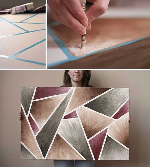 15 Super Easy Diy Canvas Painting Ideas For Artistic Home Decor