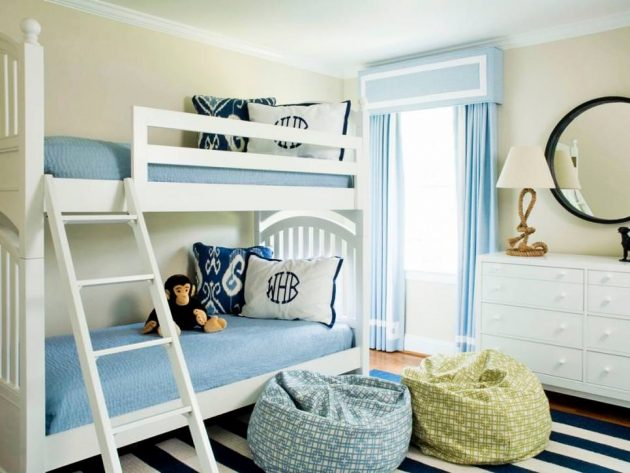 18 Creative Solutions For Decorating Child's Room For More Kids