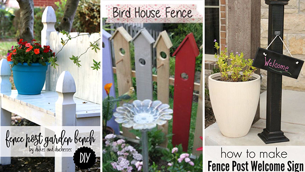 16 Amazing DIY Projects That Make Use Of Repurposed Fence ...