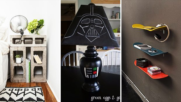 16 Super Cool DIY Decor Ideas For The Boys' Room