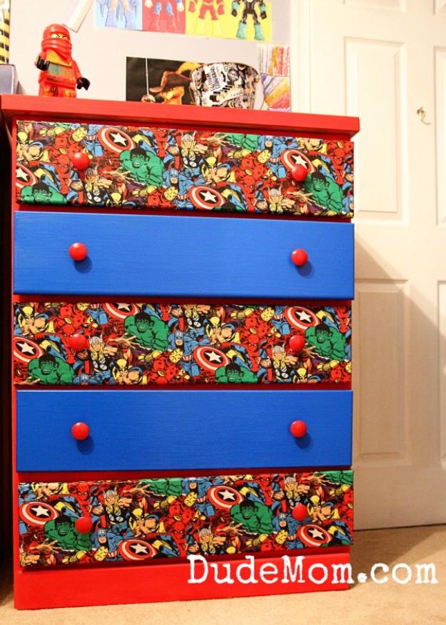 Dresser Drawer Painting Ideas