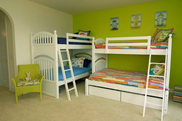 18 Creative Solutions For Decorating Childs Room For More Kids