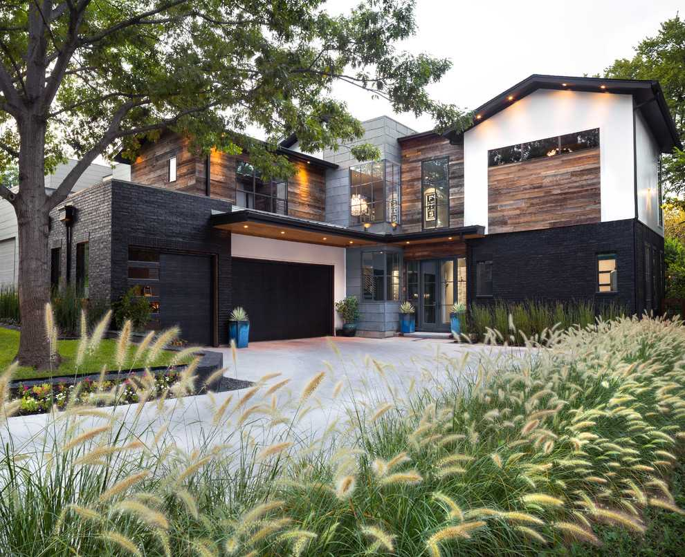17 Tremendous Industrial Home Exterior Designs You've