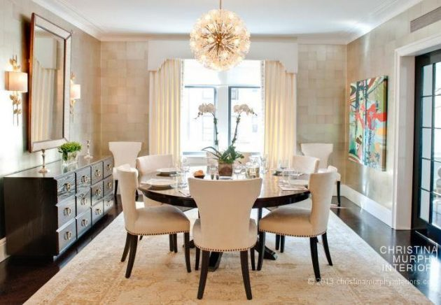 18 Fascinating Ideas For Decorating The Dining Room From Your Dreams
