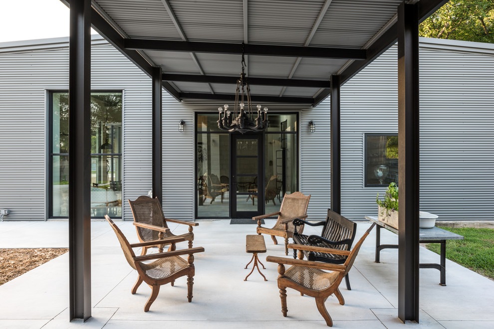18 Wonderful Industrial Patio Designs That Will Make You