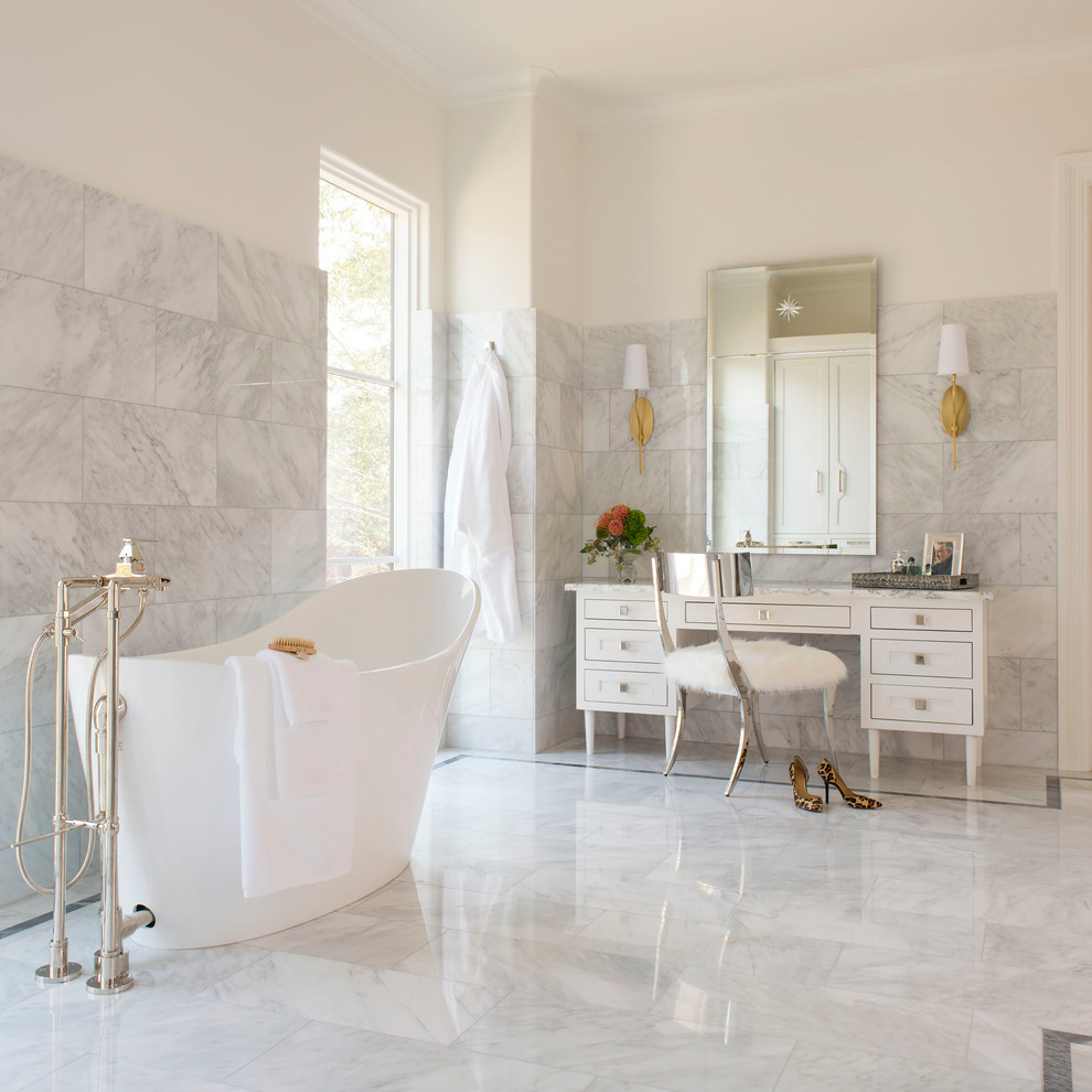 20 Great Mediterranean Bathroom Designs That Will Captivate You With ...