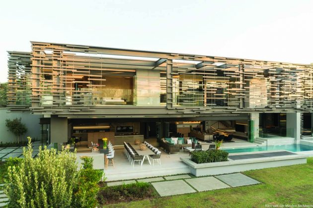 Forest Road Home, by Nico van der Meulen Architects, Inanda, South Africa
