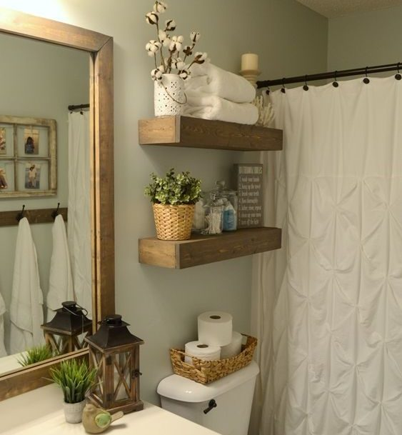 18 Charming Ideas For Adding Rustic Touch To The Bathroom