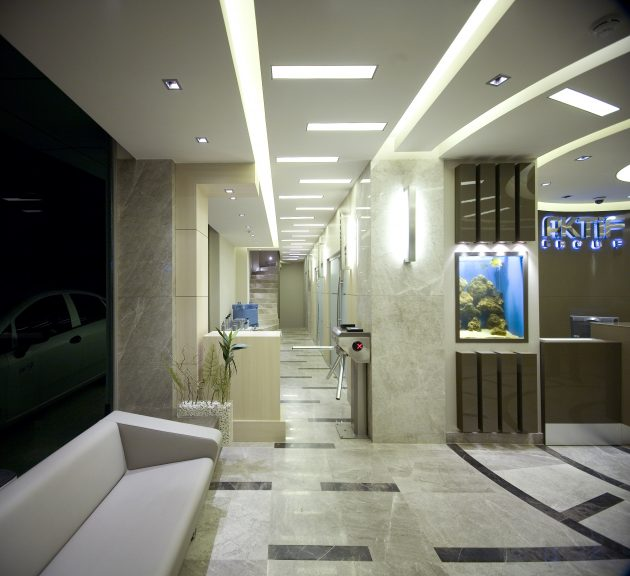 Dynamic Working Environment for Generation Y: Aktif Group Administrative Offices