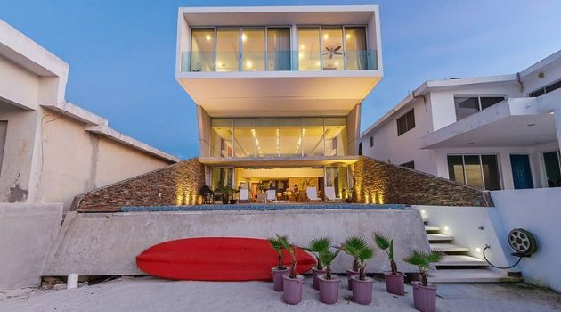 Casa JLM by Enrique Cabrera Arquitecto in Chicxulub, Mexico
