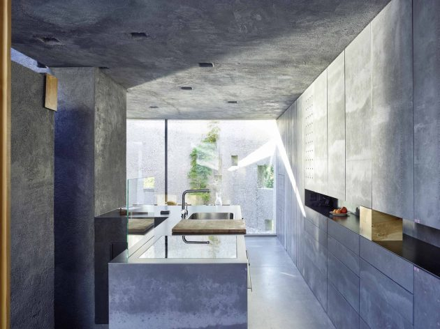 Concrete House by Wespi de Meuron Romeo Architects in Switzerland