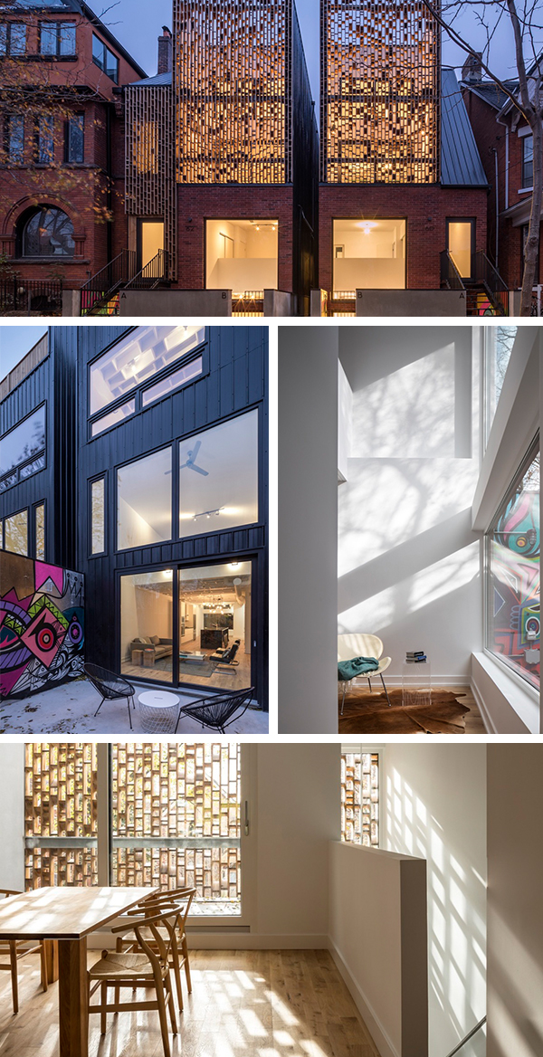 Double Duplex by Batay Csorba Architects in Toronto, Canada