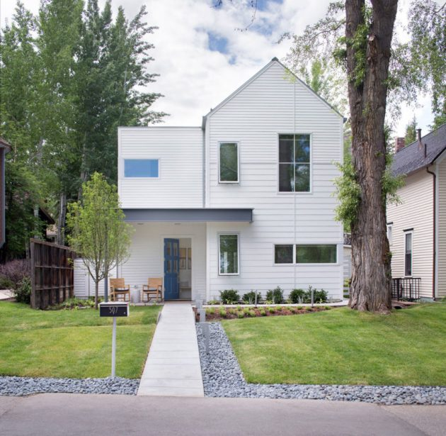 Game On Home By Rowland + Broughton Architects in Aspen, Colorado